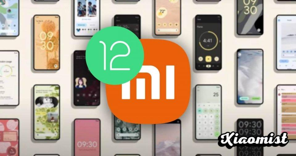 Xiaomi begins the deployment of MIUI based on Android 12: models to be updated. News Xiaomi