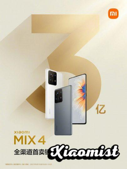 The Xiaomi Mi Pad 5 and the Xiaomi Mi Mix 4 register record figures on their first day on sale. News Xiaomi