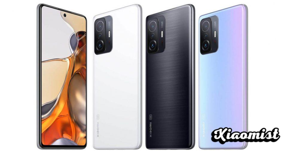 This is how the new Xiaomi 11T and 11T Pro are: capable of charging in just 17 minutes. News Xiaomi
