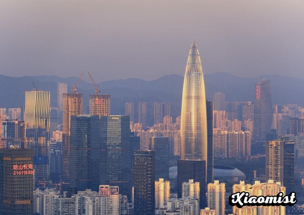 In Shenzhen they have built a