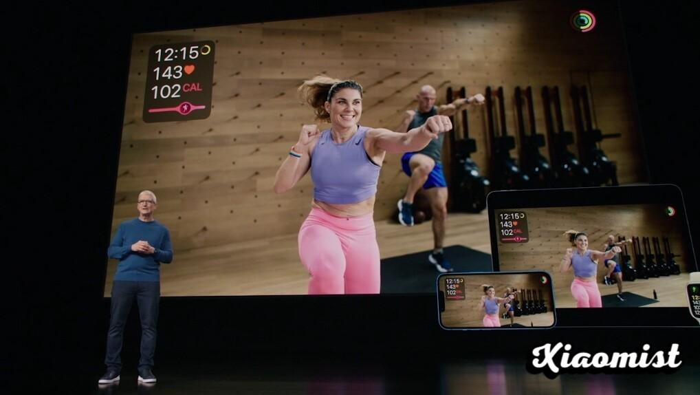 Apple Fitness +, the training class service for the Apple Watch and TV +, will arrive in Spain at the end of September
