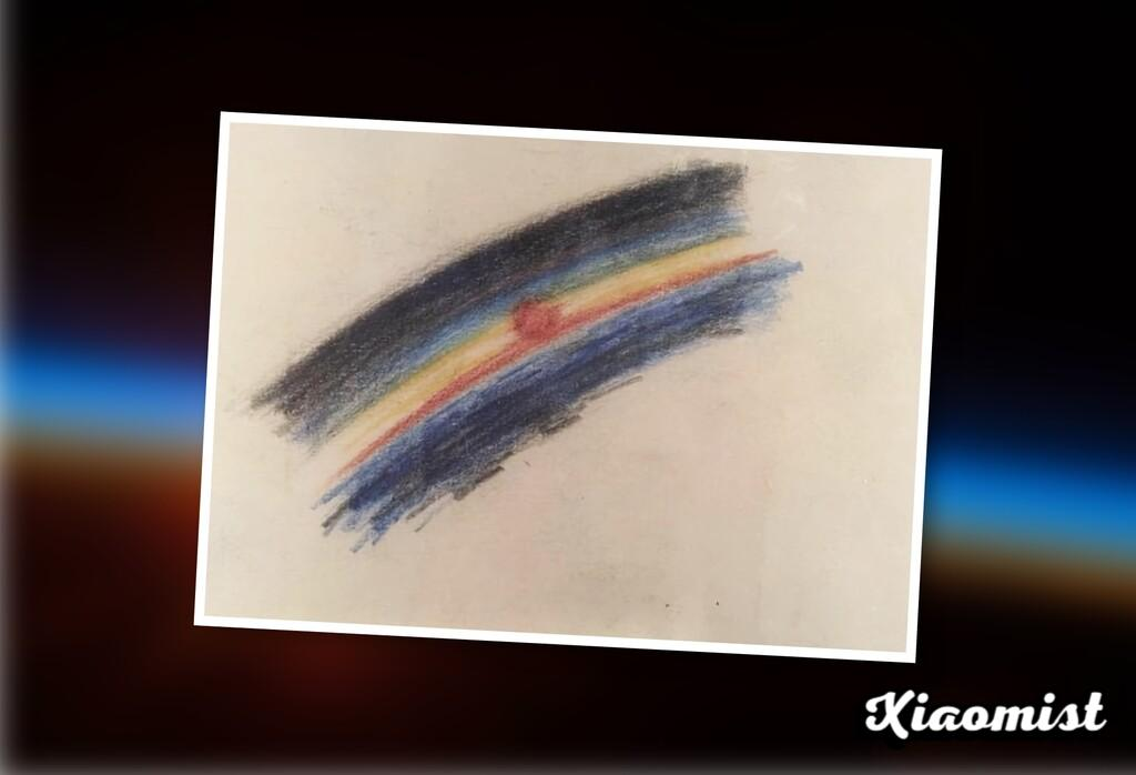 The first drawing made in space (and the odyssey to go there, do it and survive again)