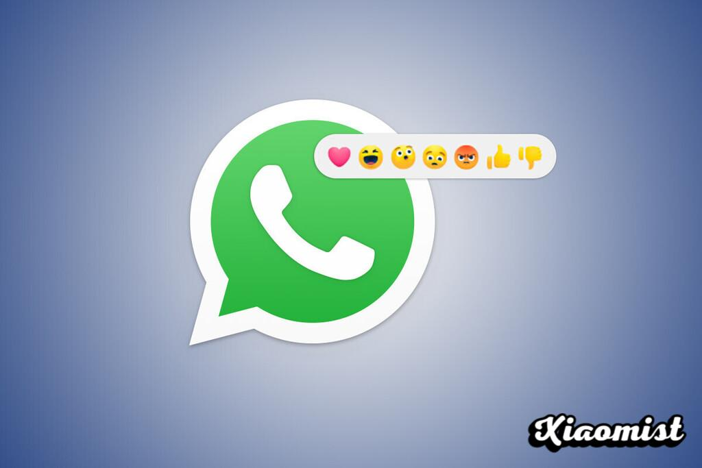 This is how reactions look on WhatsApp: the first images of the app's next feature appear