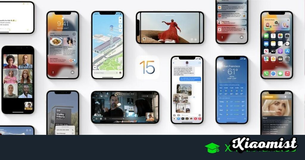 {Disarmed} iOS 15: main news, compatible devices and how to install it
