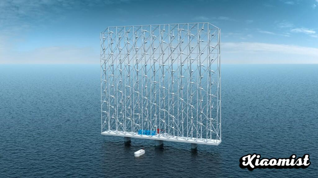 A monstrous floating multiturbine to supply 80,000 homes: this is how a Norwegian company wants to revolutionize offshore wind power generation
