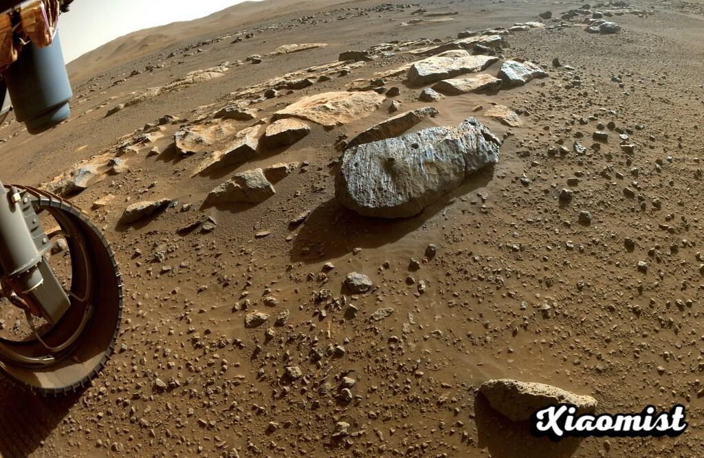 Mars had liquid water in the past: first analysis of rock samples taken by Perseverance reinforces the theory