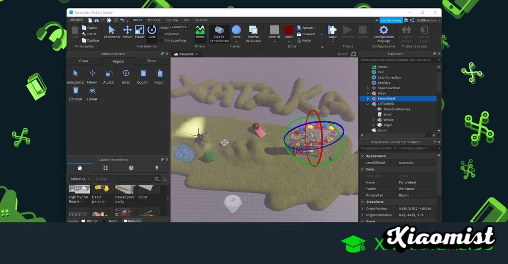 How to create your own map in Roblox: basics and first steps to create your own game