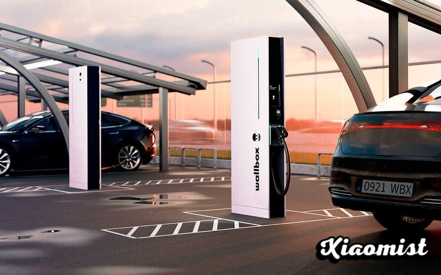 Wallbox will allow the electric car to be charged in less than 15 minutes with Hypernova, its most advanced public charging station with up to 350 kW