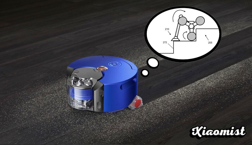 Robot vacuum cleaners that climb and clean stairs and open drawers: the eye-catching idea of the latest Dyson patents