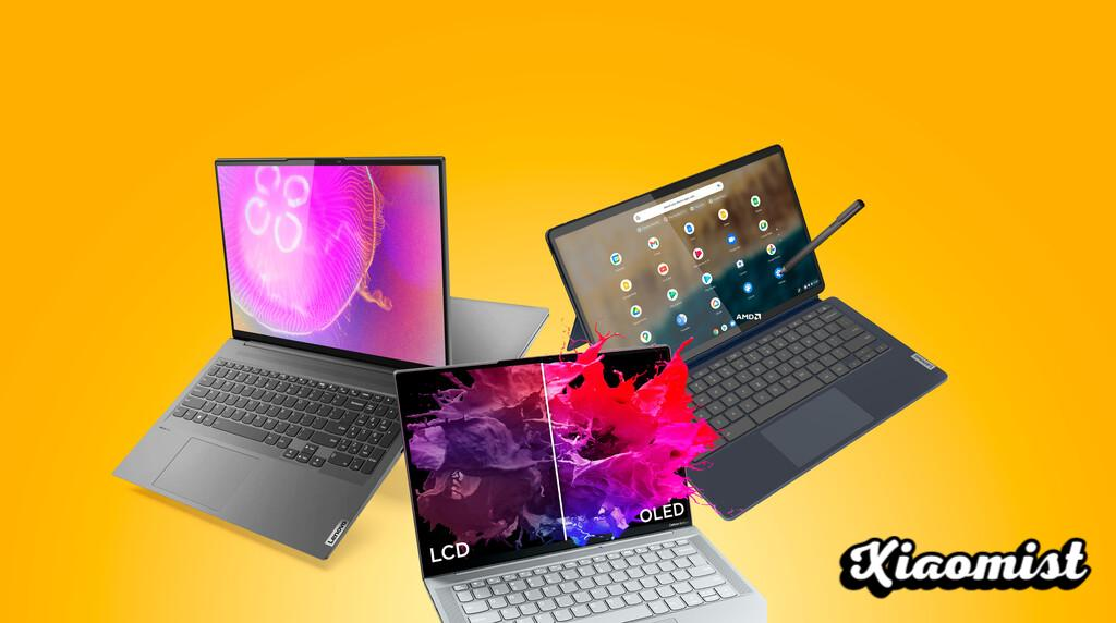 OLEDs and lightness spearhead Lenovo's firsts in Yoga Slim ultraportables and a new 2-in-1 Chromebook