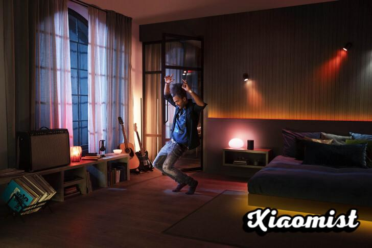 {Disarmed} Philips partners with Spotify so that all Hue lights can be a music visualizer in sync with songs