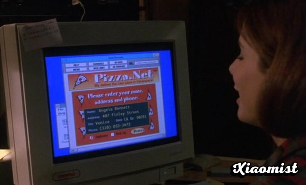 The story of CyberSlice, the first great online pizzeria that was inspired by Sandra Bullock and even Steve Jobs promoted