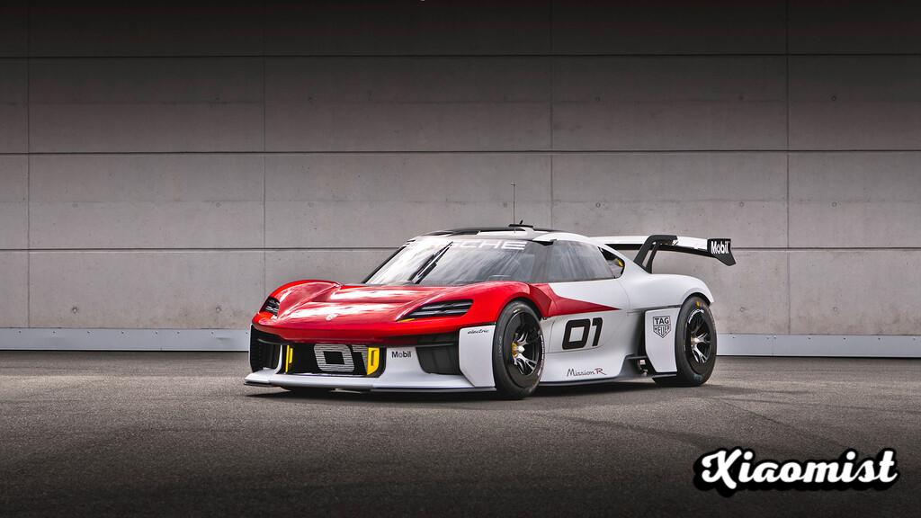 {Disarmed} Porsche Mission R: the 100% electric racing prototype with which they promise up to 1,088 hp and 75% charge in 15 minutes