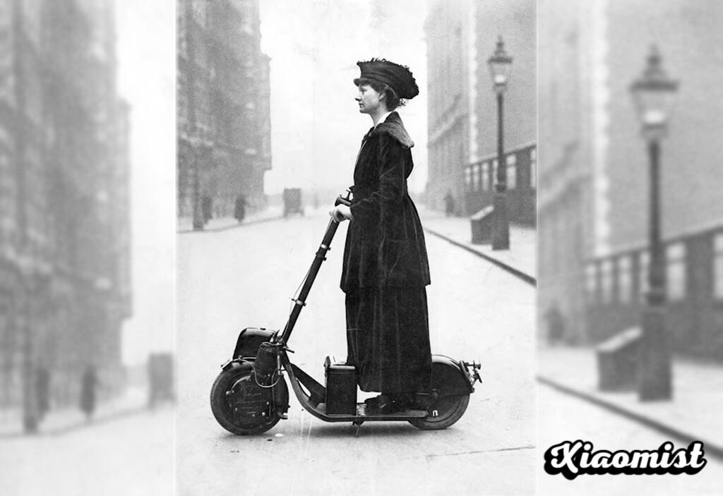 The prodigy that taught us the future of electric scooters was called Autoped, and it was already in use in 1915