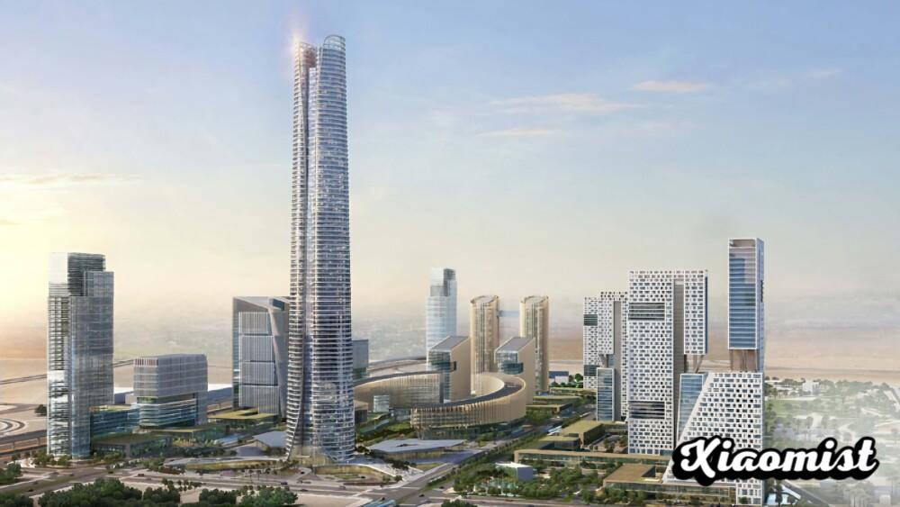 The tallest building in Africa completes its 385 meters: this is the flagship skyscraper of the future capital of Egypt