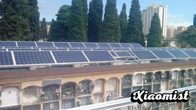 Solar panels in the cemetery niches: the solution of cities like Malaga or Barcelona to produce more solar energy