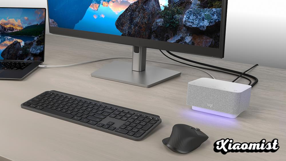 Logi Dock or how to keep your home desk tidy and optimized for video conferencing