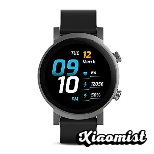 TicWatch E3 Smartwatch for Men Wear OS with Qualcomm Snapdragon Wear 4100 Google Pay Integrated GPS Heart Rate Monitoring Sleep Tracking Stress Management iOS and Android