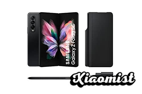 Samsung Galaxy Z Fold3 5G - Mobile phone without SIM card, Android, Foldable, Smartphone, 256 GB, Black + Note Pack (Version ES)