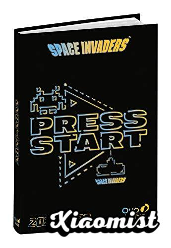 Quo Vadis - School diary, Sep. 2021 to June 2022, 1 Day per page 12x17cm SPACE INVADERS Space