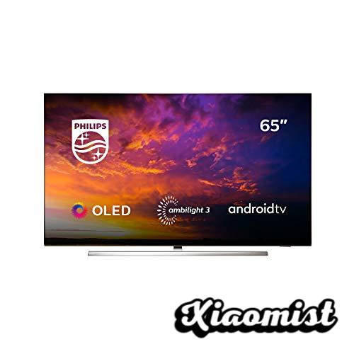 Philips 65OLED854 / 12 - Smart TV OLED 4K UHD, 65 Inch, Android TV, Ambilight 3 Sides, HDR10 +, Dolby Vision, Google Assistant, Compatible with Alexa, Color Gray