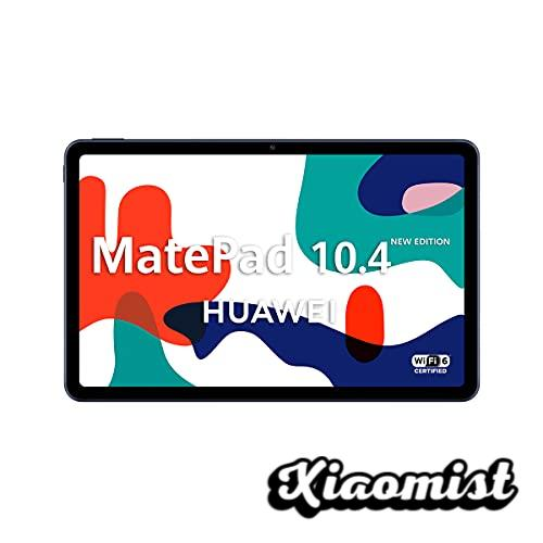 """HUAWEI MatePad 10.4 New Edition - 10.4 """"Tablet with FullHD Screen (WiFi 6, 4GB RAM, 128GB ROM, EMUI 10.0, Huawei Mobile Services)"""