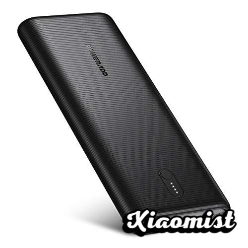 POWERADD EnergyCell II External Battery USB C 26800mAh with PD 30W Fast Charging Power Bank with 2 Inputs and 3 Outputs Portable Mobile Charger for Xiaomi Samsung Huawei iPhone iPad Macbook Tablet -Black
