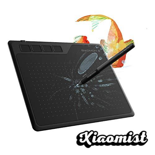GAOMON S620 6.5 x 4 Inch OSU Graphics Tablet 8192 Pressure Levels for Drawing