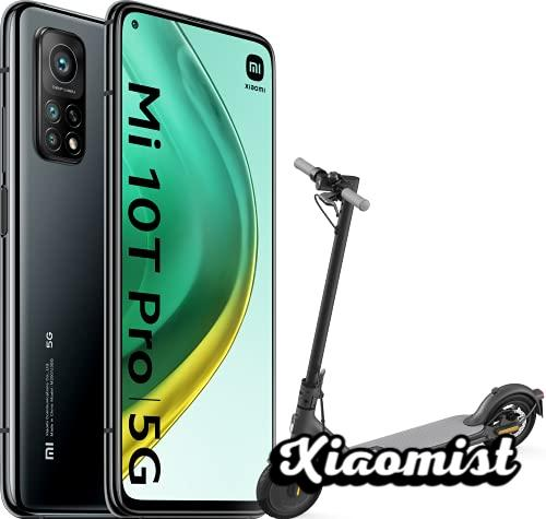Xiaomi Mi 10T Pro 5G Black Pack (Smartphone 8GB + 128GB, 108MP Camera, Snapdragon 865, 5,000mAh, 33W charge, Official Version) + Mi Electric Scooter 1S
