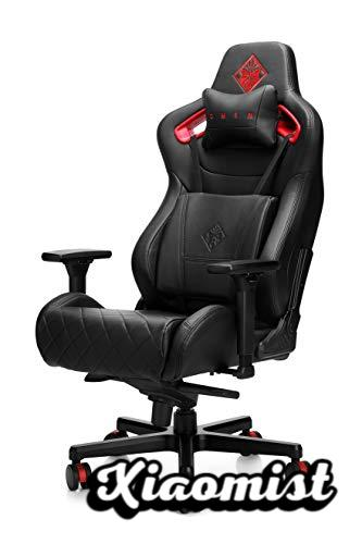 HP OMEN Citadel Gaming Chair, Black and Red