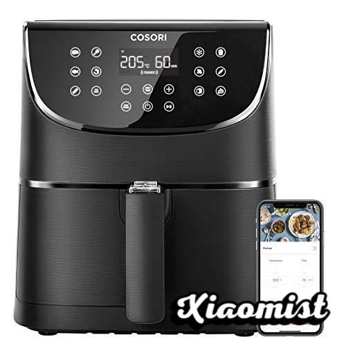 COSORI Smart WiFi Hot Air Fryer (5.5L, XXL, with App Control, LED Touch Screen, 11 Programs, Preheat and Keep Warm, Shake Mode