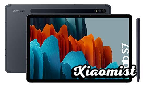 """Samsung Galaxy Tab S7 - 11 """"Tablet with QHD screen (Wi-Fi, Qualcomm Snapdragon 865+ Processor, 6GB RAM, 128GB ROM, upgradeable Android 10) - Color Black [Spanish version]"""