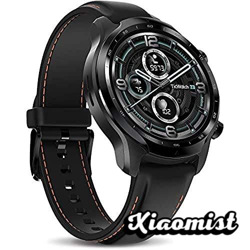 TicWatch Pro 3 LTE Smartwatch, Wear OS by Google, Cellular Connectivity from Vodafone OneNumber and Orange, Heart Rate Tracking and NFC, IP68 Swim Ready, Long Battery Life