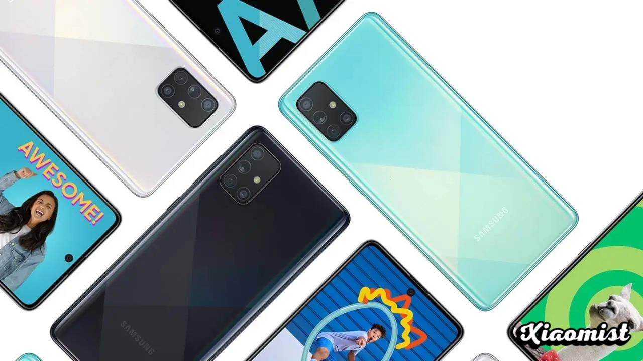 {Disarmed} Samsung Galaxy A71 gets patch in August 2021 [A715FXXU6BUH1]