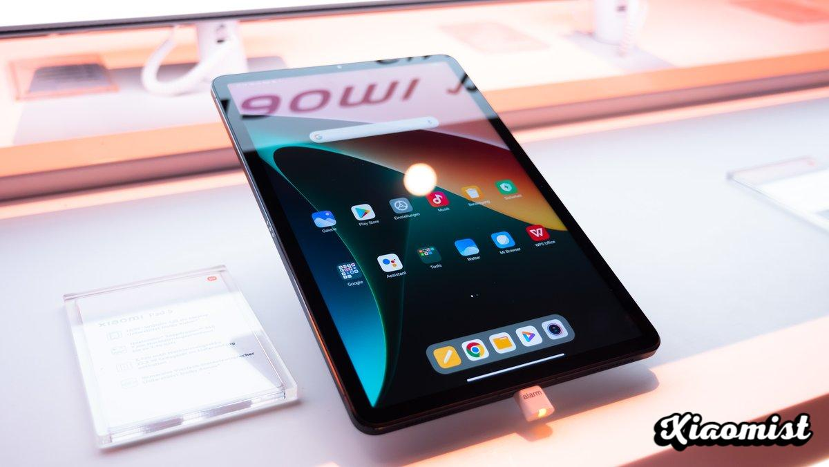 Xiaomi Pad 5 in the video: Brand new Android tablet at a great price